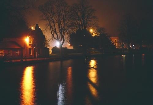Box Brownie photo of Minster Pool