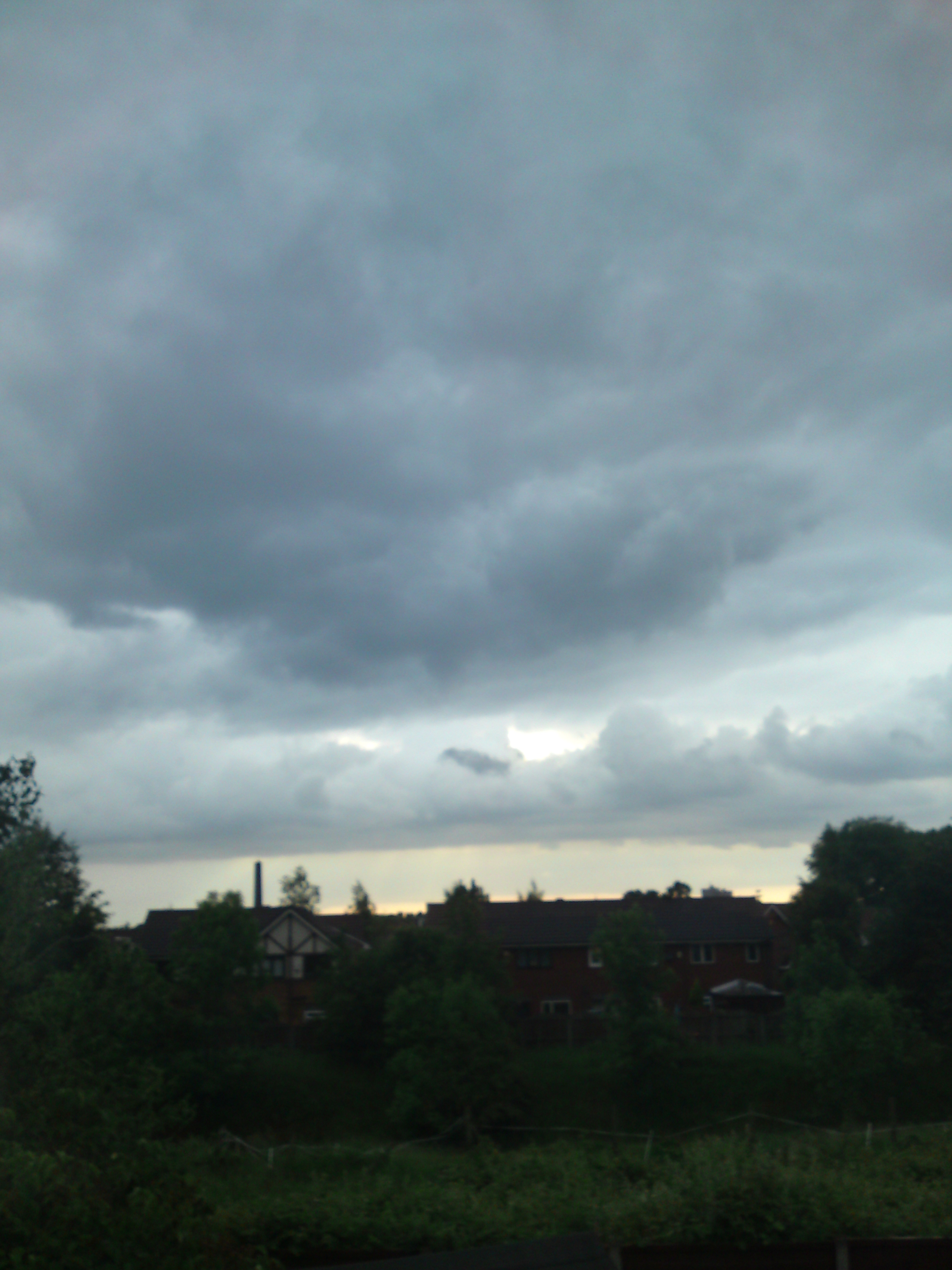 How the weather really was: unedited photo