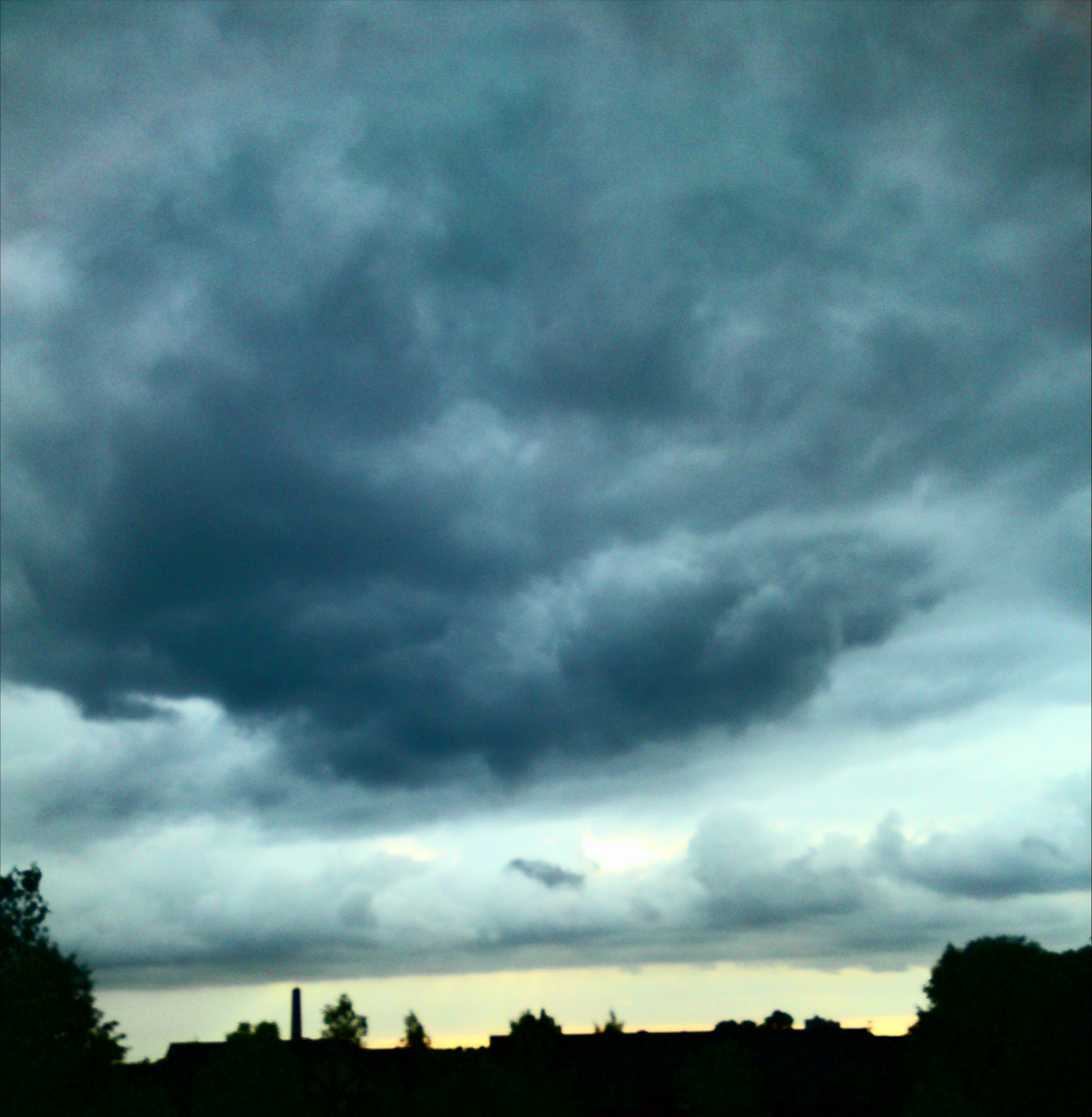 Clouds over Manchester