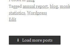 "screenshot showing ""Load more posts"" button at the end of the page"